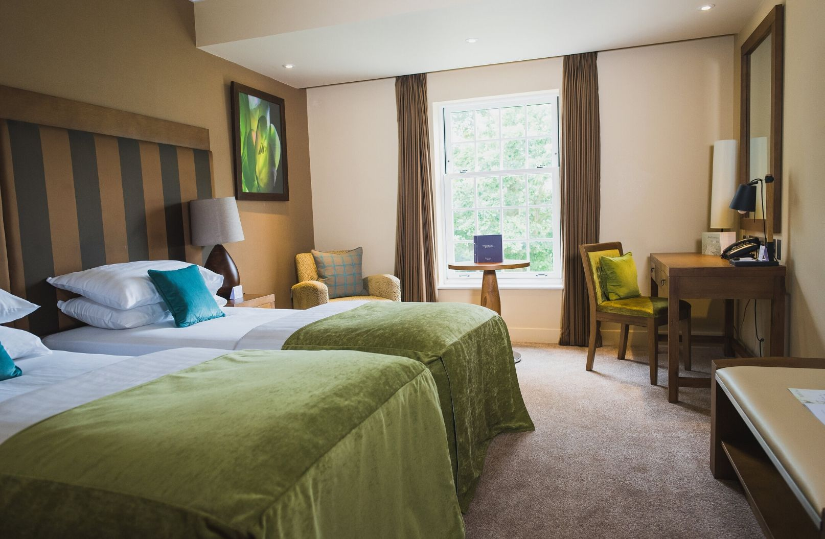 Luxury Room with Kingsize or Twin Beds
